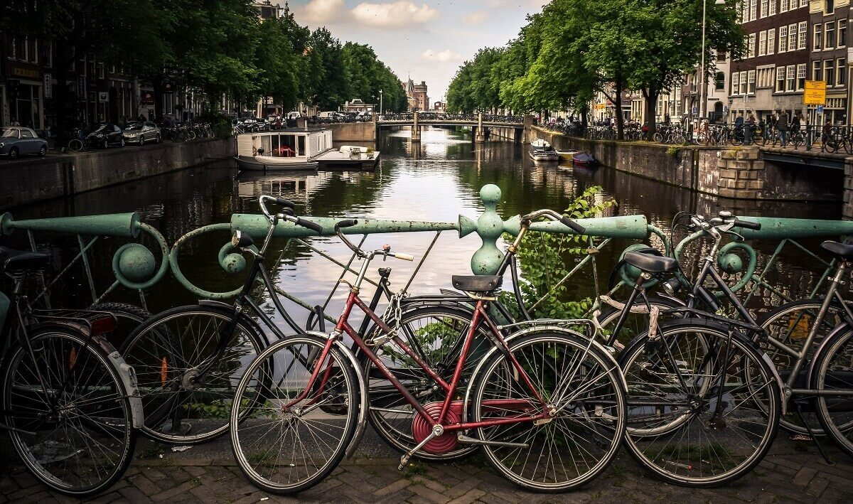 Jazdenie na bicykli - parkovanie